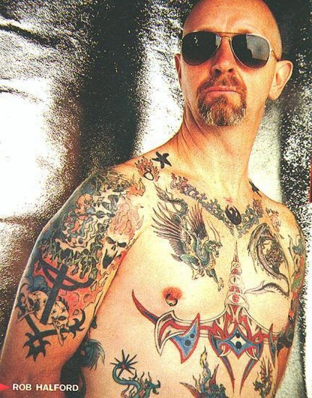 Роб Хэлфорд. В 1998 году открыто заявил о свой гомосексуальности вокалист британской хеви-метал-группы Judas Priest.