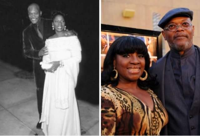 Джексон познакомился со своей будущей женой-актрисой, когда они учились в соседних колледжах (он – в сугубо мужском, она – в сугубо женском). Поженились в 1980 году брак пережил все возможные испытания - начиная с неудач Джексона на работе (он лишь в 1990-х стал постоянно востребованной звездой) и заканчивая пристрастием актера к героину.