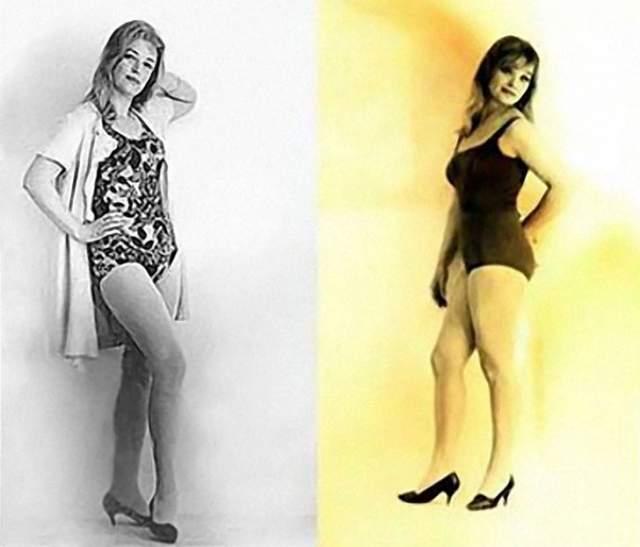 Пробы на роль красавицы-незнакомки Клары Лучко и Светланы Светличной.
