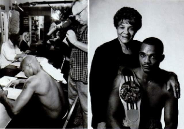Кстати, отсутствие таланта к боевым искусствам у Стриклендов - это семейное. Его брат и супруга, тоже увлекающиеся боями, одержали всего по две победы за всю свою карьеру.