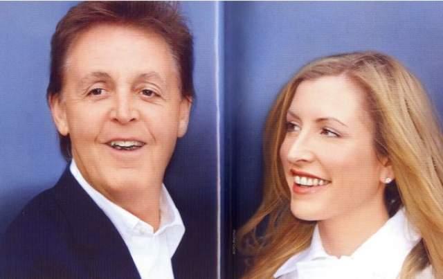 """Пол Маккартни и Хизер Миллс, 2002-2008. Разбитый горем от смерти своей первой супруги Линды в мае 1999 года на благотворительном вечере в лондонской гостинице """"Дорчестер"""" познакомился с Ней. Знаменитый музыкант только начал выходить в свет после траура по жене Линде, с которой прожил 30 лет (она скончалась 17 апреля 1998 года от рака груди). Депрессия Пола была настолько глубокой, что он стал затворником и даже подумывал о самоубийстве."""