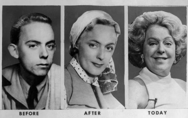Кристин Йоргенсен, 1926-1989. Это женщина стала знаменитой на весь мир в 1952 году - именно над ней была проведена первая успешная операция по перемене пола.