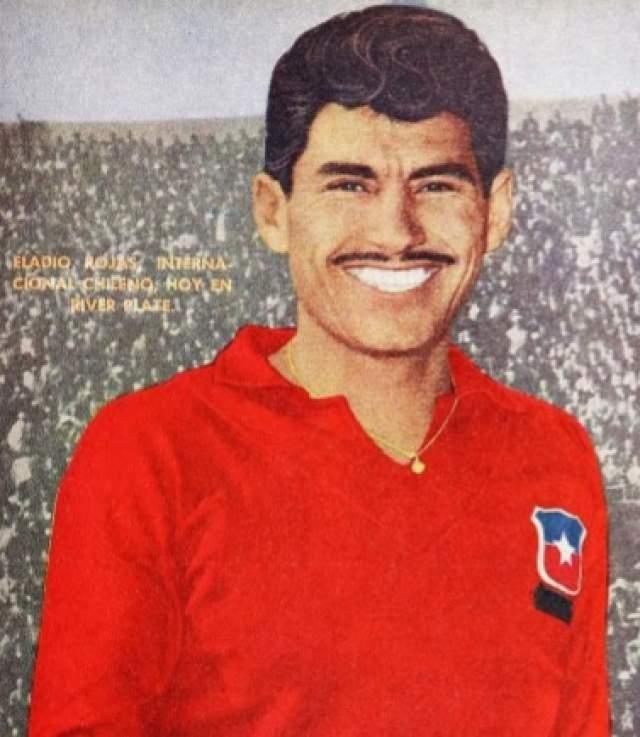 Эладио Рохас. Тот самый футболист, который в 1/4 финала ЧМ-1962 в Чили остановил череду побед лучшей на тот момент европейской команды — сборной СССР. Про его гол в ворота Яшина до сих пор складывают легенды.