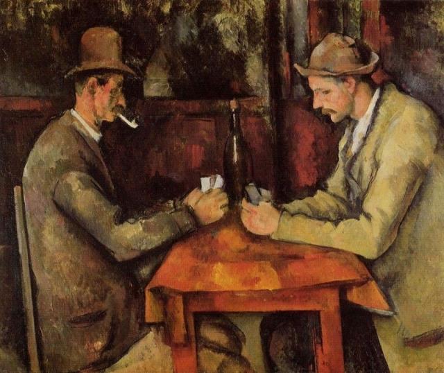 """$250 000 000. """"Игроки в карты"""" , Поль Сезанн, 1890-1895 гг."""