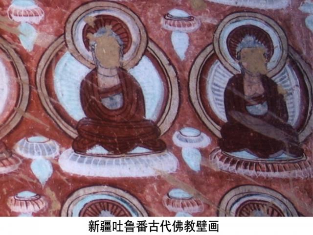 Непонятно, уж не в летающих ли тарелках парят медитирующие боги.