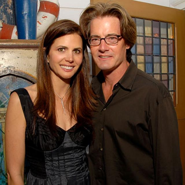 """Женился Маклахлен довольно поздно - в 2002 году. Его супругой стала Дезри Грубер, продюсер американского телешоу """"Подиум"""". Пара воспитывает сына."""