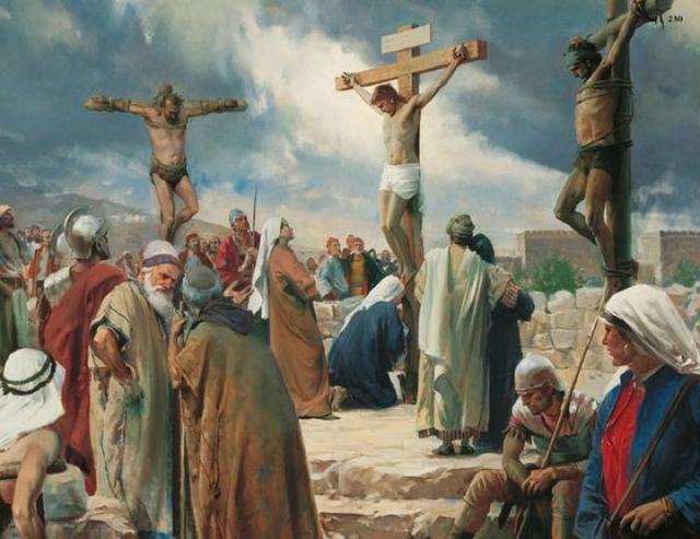 Распятие на кресте. Впервые казнь путем распятия была применена финикийцами, но через некоторое время этот способ переняли и другие народы. Израильтяне и римляне смерть на кресте считали самой позорной.