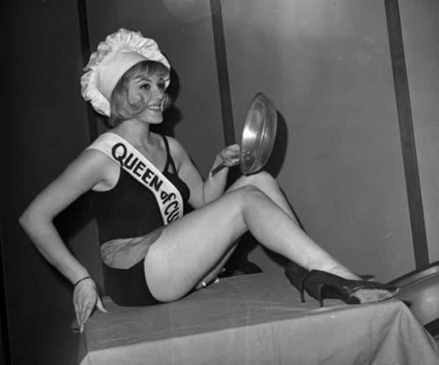 Глория Принс, королева кухни - 1964.