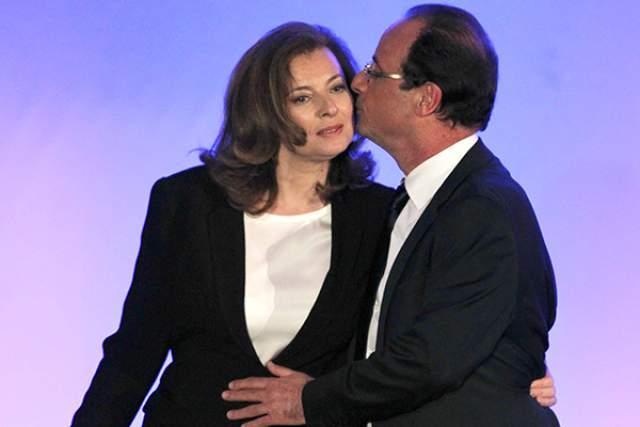"""Она издала откровенные мемуары """"Спасибо за момент"""", который стал бестселлером и сделал Триервейлер богаче на 2 млн евро; простые французы были на ее стороне, а рейтинг президента упал до рекордной отметки."""