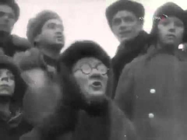 Казнь пленных немцев кроме прочего сняли на видео. Среди осуждённых был и 63-летний генерал-майор вермахта Генрих Ремлингер.