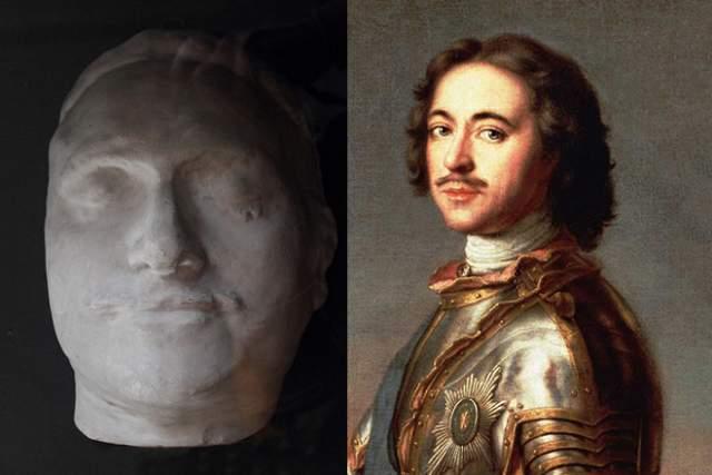 Посмертная маска Петра I вполне соответствует портретам императора и прижизненным описаниям его внешности. В последние годы царствования он сильно болел (предположительно, почечнокаменной болезнью, осложненной уремией) и скончался в страшных мучениях.