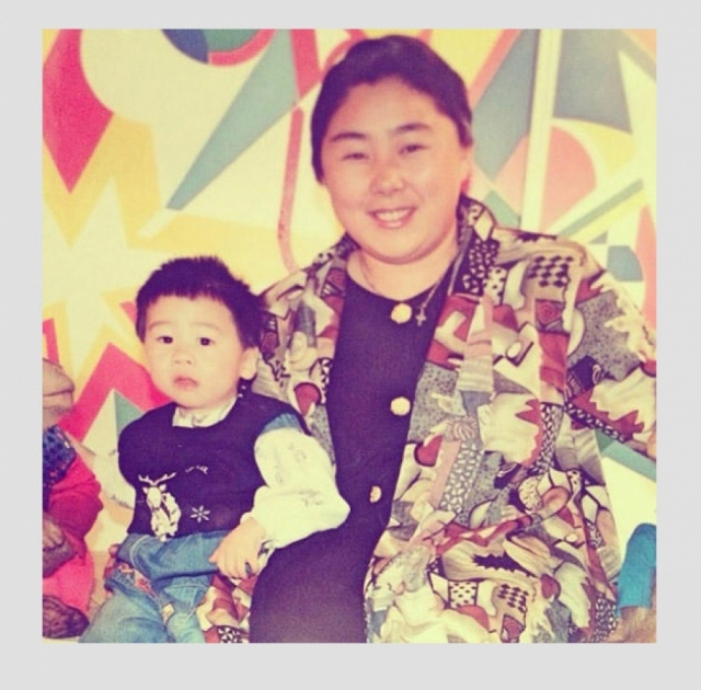 Анита Цой. В молодости будущая певица вовсе не походила на звезду эстрады.