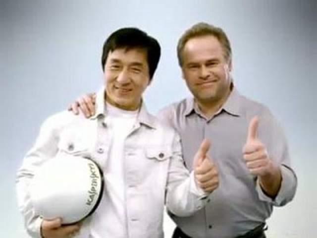 В ролике Джеки Чан выступил в своем обычном образе, только борется он не с бандитами, а с вирусами. На помощь актеру приходит Евгений Касперский, который дает герою волшебный шлем. С помощью шлема вирус оказывается побежден.