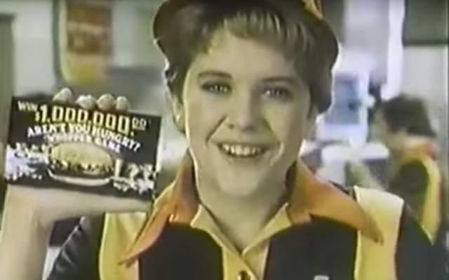 "Мэг Райан рекламировала ""Бургер-кинг""."