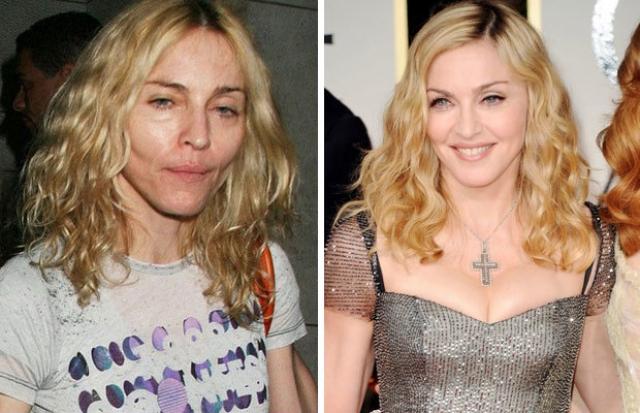 Мадонна. Поп-дива без макияжа слегка напоминает собственного сына.