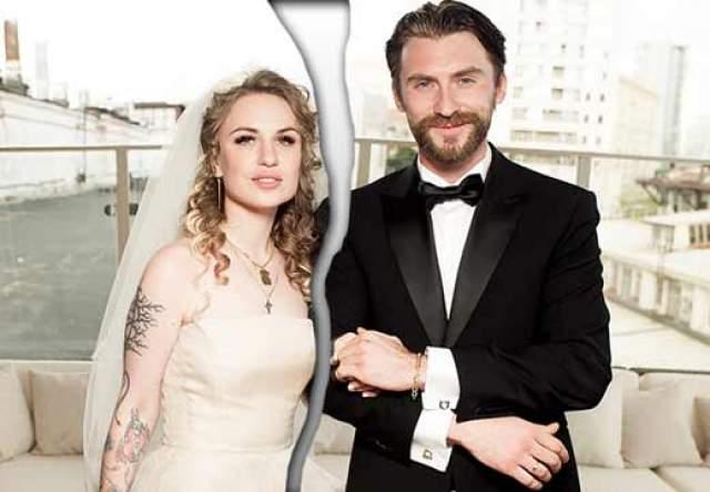 Валерия Гай Германика и Вадим Любушкин. Развестись с супругом режиссер решила, даже несмотря на то, что была от него в тот момент беременна.