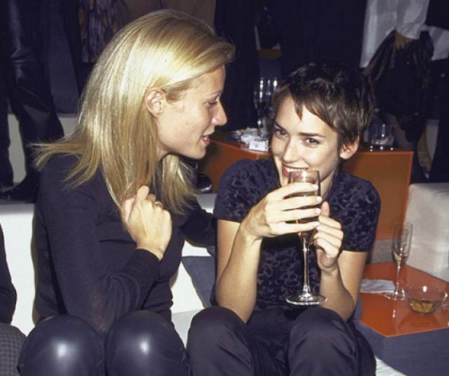 Гвинет Пэлтроу и Вайнона Райдер . Обе девушки начали кинематографическую карьеру еще подростками.