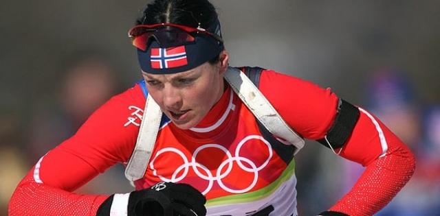 Лив-Грете Шельбрейд (Пуаре). Норвежская голубоглазая биатлонистка завершила карьеру в 2006 году.