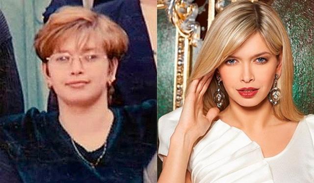 Сейчас с трудом можно сказать, на каком же из фото певица моложе.