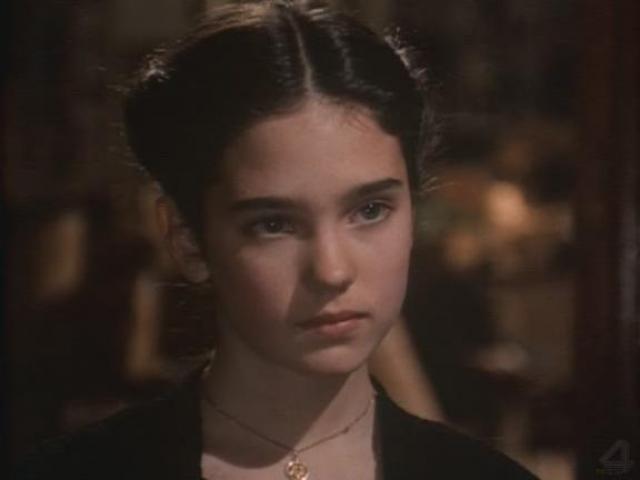 """Дженнифер Коннели. Актриса дебютировала в кино в 14 лет в фильме самого Серджо Леоне """"Однажды в Америке""""."""