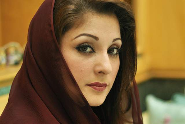 """Наваз Шариф. Дочь премьер-министра Пакистана Марьям занимается благотворительностью и работает в партии отца """"Мусульманская лига Пакистана""""."""