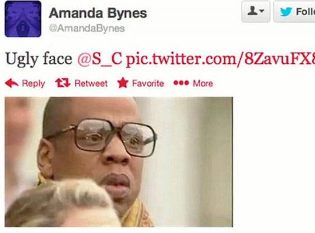 """Подобной нападке от Байнс подвергся и рэпер Jay-Z, которого она просто назвала """"уродливым""""."""