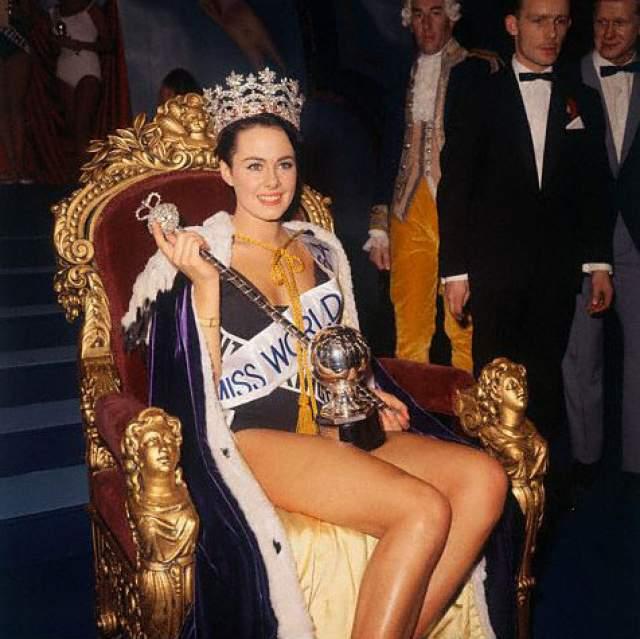 Энн Сидни (Великобритания) - Мисс мира 1964.