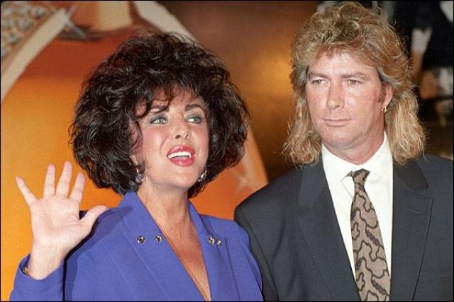 В 1991 году они поженились на ранчо Майкла Джексона Neverland и прожили вместе пять лет, по истечению которых Тейлор сломала шейку бедра, а Ларри просто сбежал. В 1996 году они оформили бумаги по разводу.