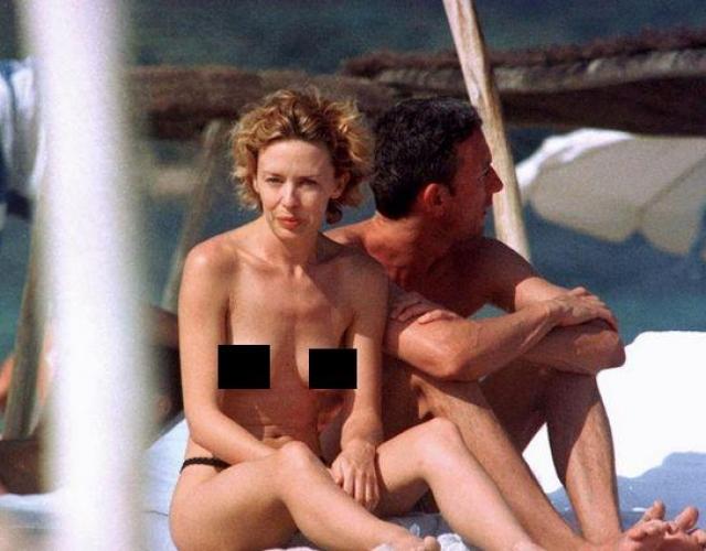 Даже в далеко не юном возрасте Кайли Миноуг способна блеснуть на пляже.