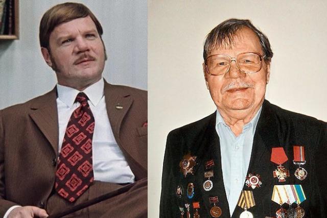 Михаил Пуговкин. Актер умер 25 июля 2008 года у себя дома в Москве из-за обострения сахарного диабета в возрасте 85 лет.