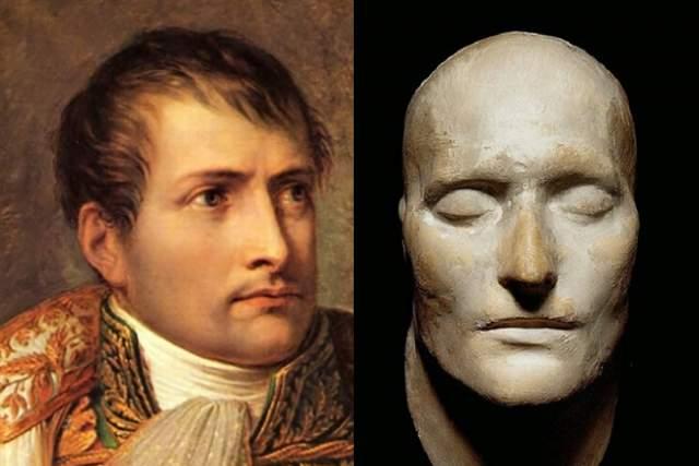Оригинальная посмертная маска Наполеона была создана 7 мая 1821, всего через полтора дня после его смерти на острове Святой Елены в возрасте пятидесяти одного года.