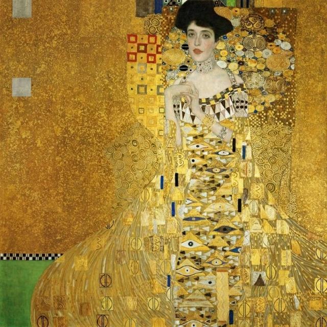 """$135 000 000. """"Портрет Адели Блох-Бауэр I"""" , Густав Климт."""