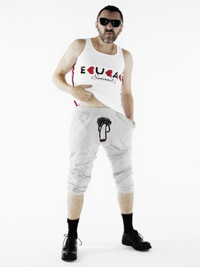 Кроме этого уже несколько лет выпускается его собственная линия одежды под брендом Shnurovs в 2014 году.