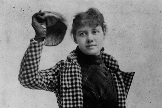 """14 ноября 1889 года молодая журналистка нью-йоркской газеты """"New York World"""" Элизабет Кокрейн отправилась в одиночку вокруг света тем же маршрутом и теми же видами транспорта, что и литературный герой Жюля Верна """"Вокруг света за 80 дней""""."""