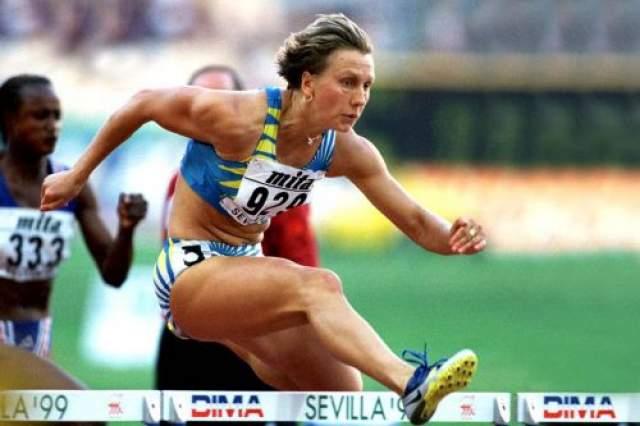 Людмила Энквист. Спортсменка из России становилась чемпионкой мира по бегу с барьерами, выступая за СССР, и олимпийской чемпионкой, представляя Швецию.