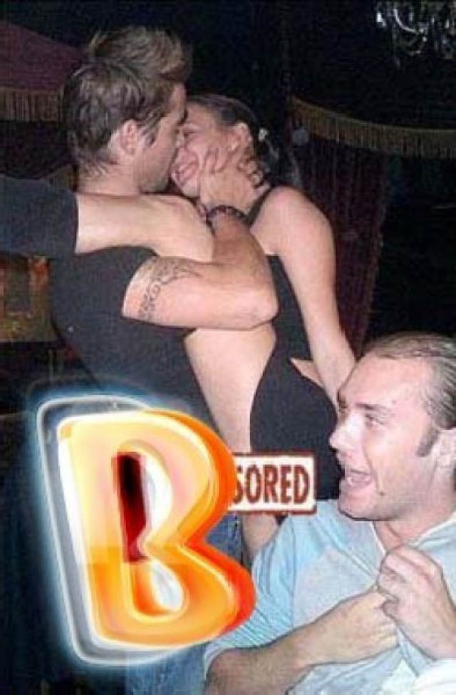 Колин Фаррелл. Актер часто расслабляется в клубах с разными девушками.