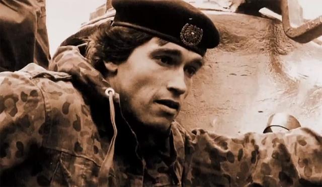 В 1965 году 18-летнего Арнольда призвали в австрийскую армию на год, где он получил специальность механика-водителя танка M47 Patton II.