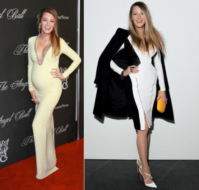 Блейк Лайвли. Актриса вышла в свет, продемонстрировав практически идеальную фигуру, меньше чем через два месяца после родов.