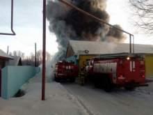 В Новосибирской области сгорела обувная фабрика: погибли 10 человек
