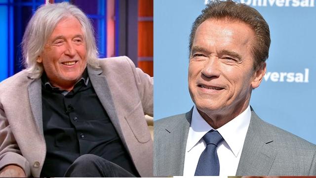 Вячеслав Малежик и Арнольд Шварценеггер (70 лет). Пожалуй, нигде, кроме нашего фоторепортажа, эти две знаменитости не могли бы встретиться.