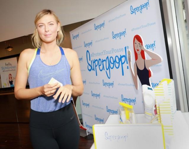Также Шарапова вложила деньги в компанию The Supergoop, производящую солнцезащитные кремы.