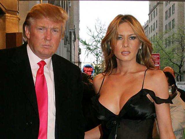 Конечно же Дональд Трамп не мог обойти вниманием одну из красивейших мировых моделей.