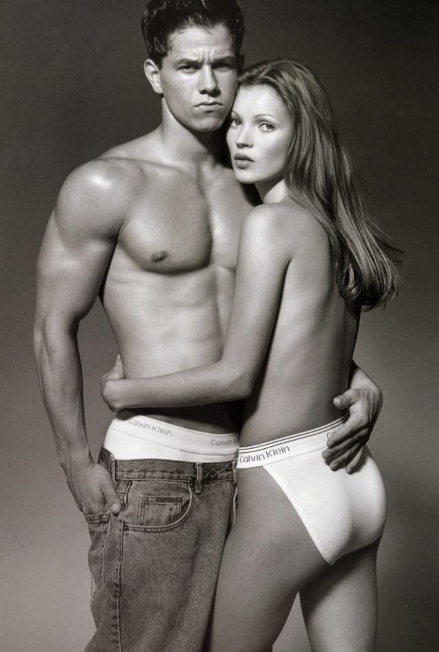 Кейт Мосс. В 1992 году Calvin Klein выпустил первую коллекцию одежды в стиле унисекс, набиравшем в то время невероятную популярность.