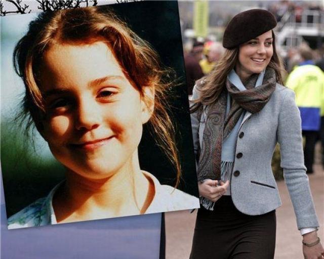 Кейт Миддлтон. По воспоминаниям подруги королевской знаменитости, милую и добродушную девочку всячески дразнили и обижали одноклассницы, а одноклассники однажды оценили ее красоту на два балла из десяти.