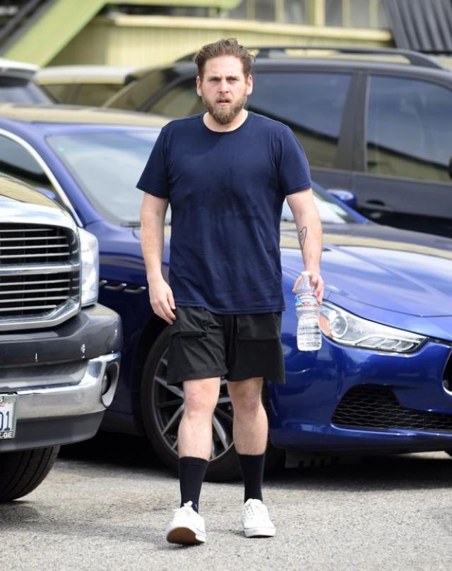 В итоге актер потерял практически 25 килограммов.