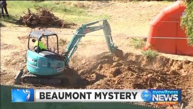 В прямом эфире исследователи рыли возможную могилу детей, но... В земле обнаружились лишь кости животных.