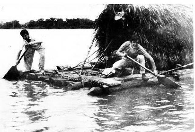 С 1953 по 1954 годы Гевара отправляется в свое второе длительное путешествие по странам Латинской Америки. Он побывал в Боливии, Перу, Эквадоре, Колумбии, Панаме, Сальвадоре.