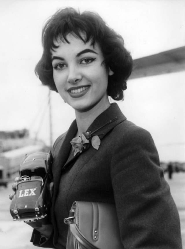 Петра Шюрманн (ФРГ) - Мисс мира 1956.