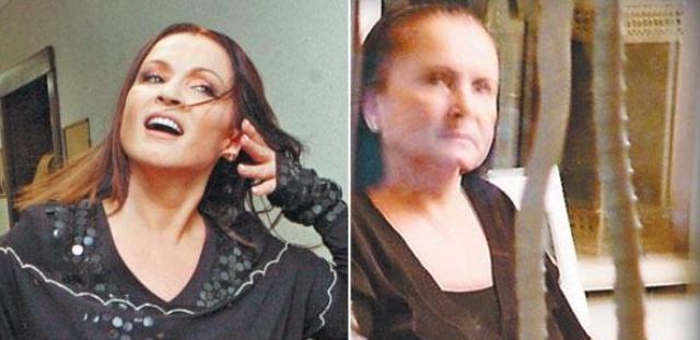 """София Ротару. """"Подловить"""" певицу без безупречного макияжа практически невозможно, но какому-то фотографу это все же удалось."""