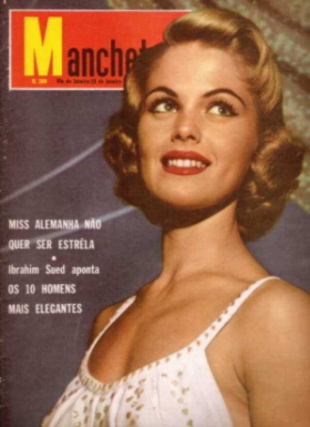 Корин Спир-Роттшефер (Нидерланды) - Мисс мира 1959.